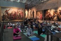 Yoga alla Galleria Nazionale a Parma